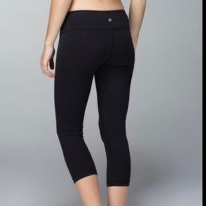 Lululemon crop pants Sz6